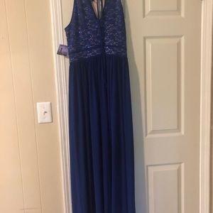 Night Way Collections Dresses - Royal blue formal dress